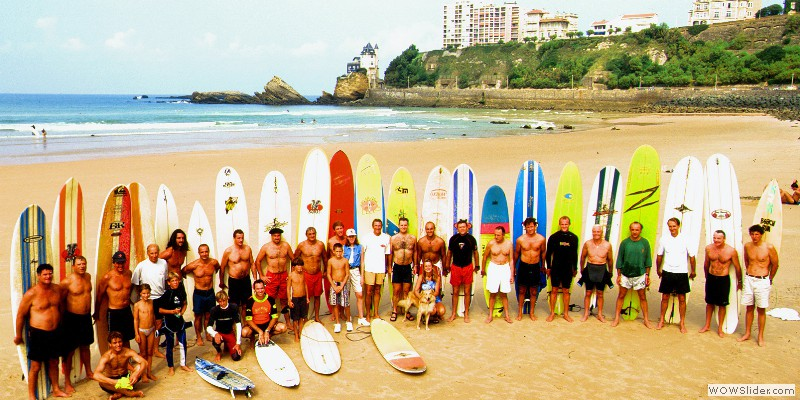 Biarritz Surf Club en 1997